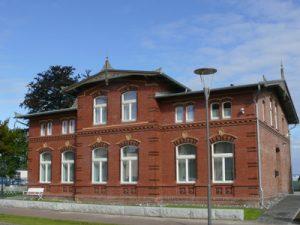Windjammer-Museum: die historische Villa
