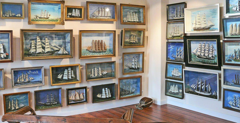Ausstellungen im Obergeschoss