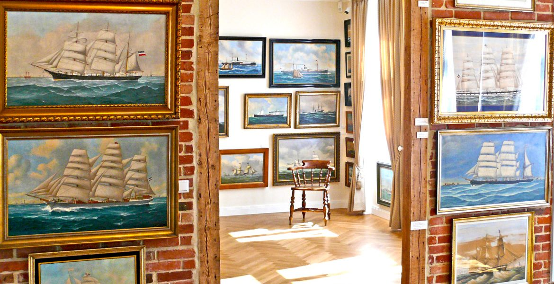 Ausstellungen im Erdgeschoss