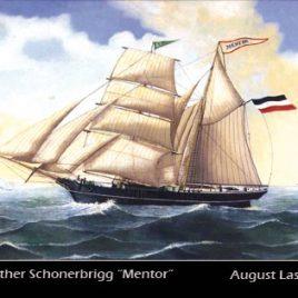 Postkarte MENTOR von Barth