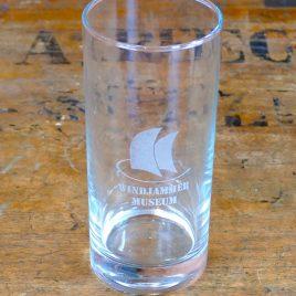 Trinkglas mit Lasergravur