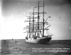 Magdalene Vinnen Sydney. Quelle: Australien National Maritime Museum