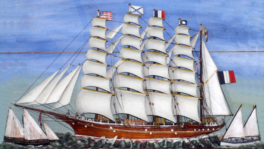 FRANCE - Seemannsarbeit im Windjammer-Museum
