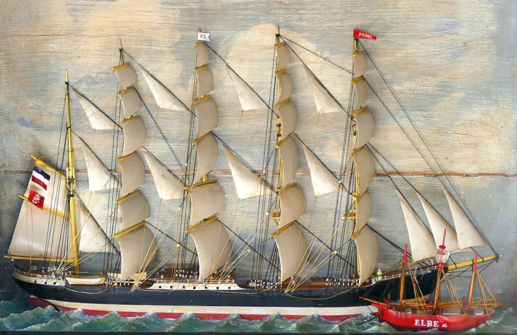 POTOSI - Seemannsarbeit im Windjammer-Museum